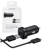 Samsung KFZ-Mini-Adapter EP-LN930B + microUSB Datenkabel 2A
