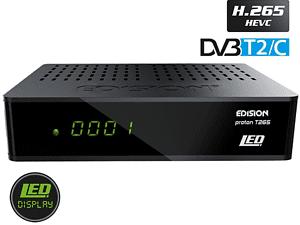 Edision DVB-C/T2 Receiver