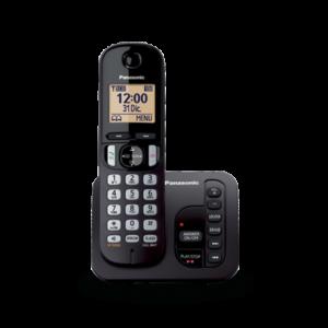 Panasonic KX-TGC220 Digitales Schnurlos-Telefon mit integrierten Anfrufbeantworter