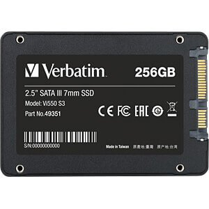 Verbatim Vi550 S3 SSD 256 GB