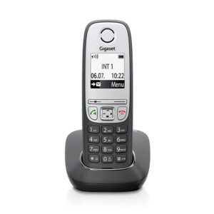 Gigaset A415 schnurloses telefon schwarz