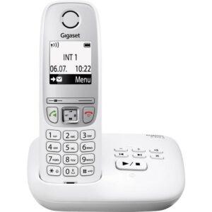 Gigaset A415A Schnurlostelefon mit Anrufbeantworter weiß