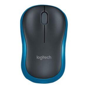 Logitech M185 Maus, 2.4 GHz, Blau