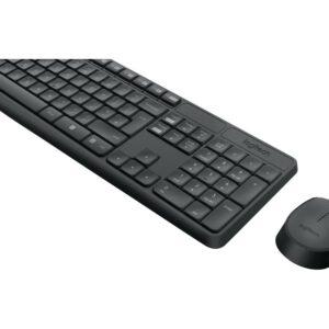 Logitech MK235, Tastatur und Maus Set, German QWERTZ