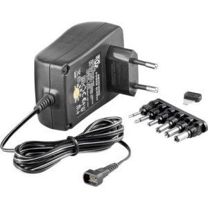 Wentronic Goobay 3 V – 12 V Universal-Netzteil