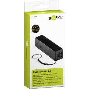 Goobay PocketPower 2.0 Powerbank 2000 mAh
